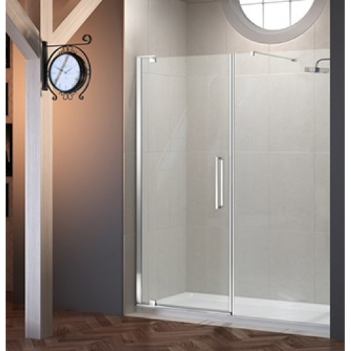 MERLYN SERIES 10 1500MM PIVOT DOOR & INLINE PANEL