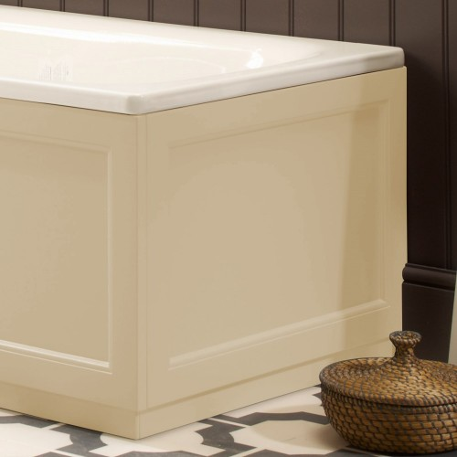 ROPER RHODES HAMPTON BATH END PANEL VANILLA