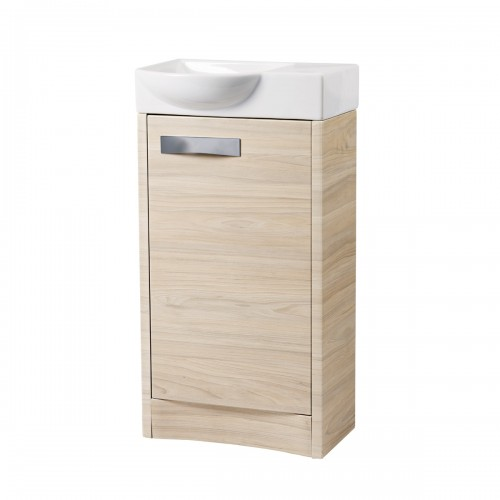 Vanity Unit Lights : ROPER RHODES MIA CLOAKROOM VANITY UNIT - LIGHT ELM Buy a Bathroom