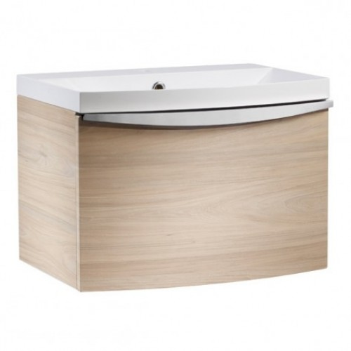 ROPER RHODES SERIF 600MM VANITY UNIT & BASIN - LIGHT ELM