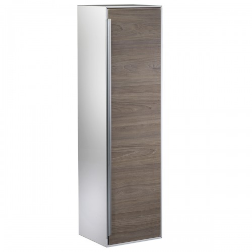 ROPER RHODES VISTA 330MM WHITE/DARK ELM TALL STORAGE UNIT