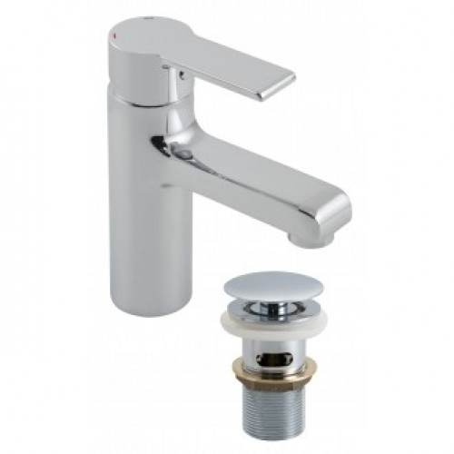 ION MONO BASIN MIXER WITH CLIC-CLAC WASTE