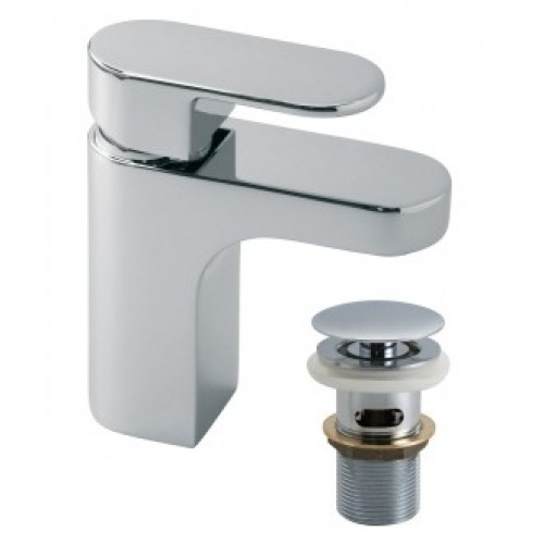 LIFE BASIN MIXER WITH CLIC-CLAC WASTE