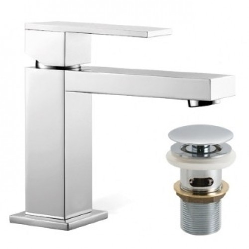 NOTION MONO BASIN MIXER WITH CLIC-CLAC WASTE