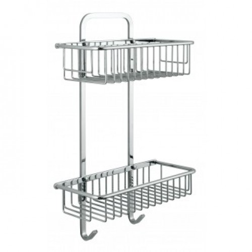 VADO LARGE RECTANGULAR DOUBLE BASKET