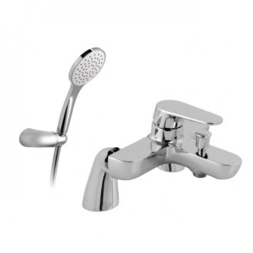 ASCENT 2 HOLE BATH SHOWER MIXER WITH SHOWER KIT