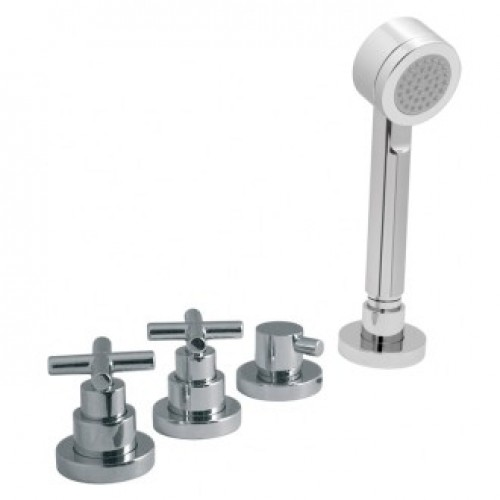 ELEMENTS WATER 4 HOLE BATH SHOWER MIXER