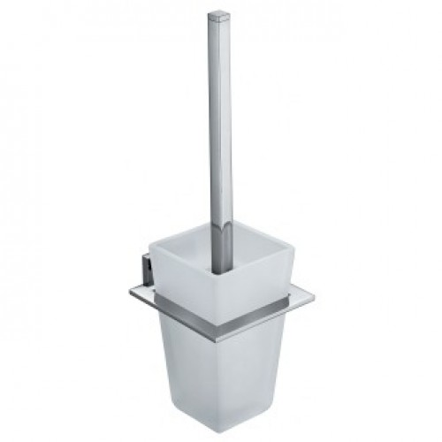 LEVEL TOILET BRUSH AND HOLDER