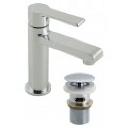 ION MINI MONO BASIN MIXER WITH CLIC-CLAC WASTE