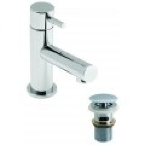 ZOO MINI MONO BASIN MIXER WITH CLIC-CLAC WASTE