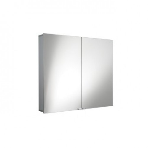 MIRRORED WALL CABINET WITH DOUBLE DOORS