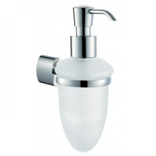 SOHO GLASS SOAP DISPENSER