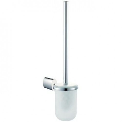 SOHO TOILET BRUSH WITH GLASS HOLDER