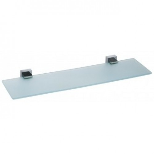 SQUARE FROSTED GLASS SHELF